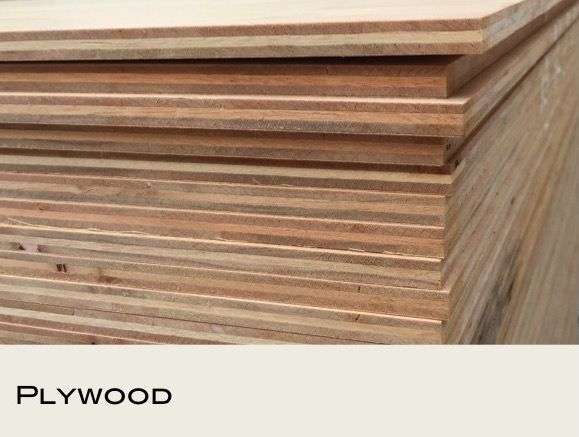 Plywood - original surface (3mm to 25mm thickness)