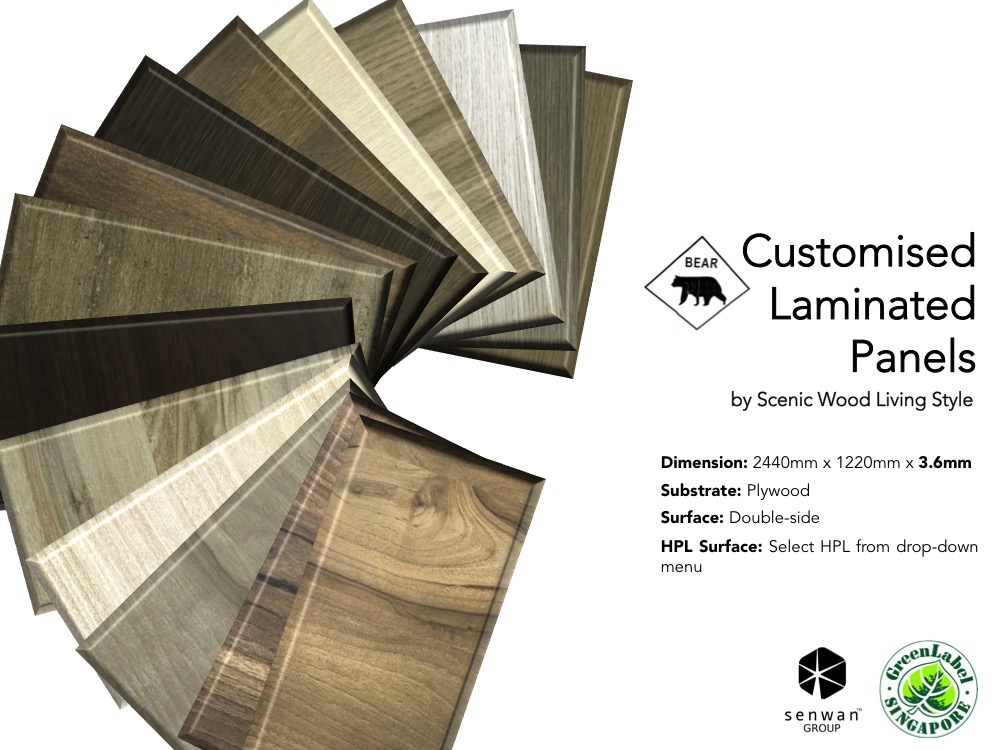 3 6mm plywood - Double faced HPL | Sen Wan Group