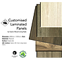 5mm plywood - Single faced HPL